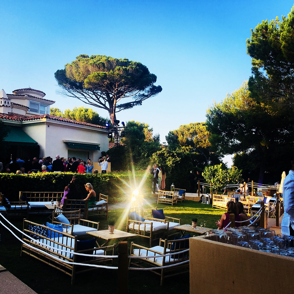 Cocktails at the Stunning Villa Dorane in Antibes, France