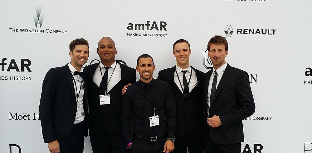 Hosts at the AmfAR Cinema Against AIDS Gala Cannes 2016