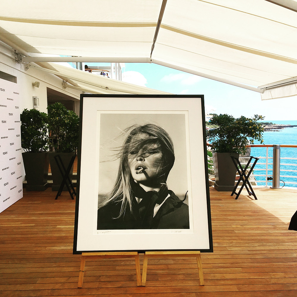Brigitte Bardot signed photography - auction item Amend Cannes 2018