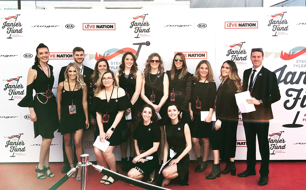 Hosts and Hostesses for Janie's Fund