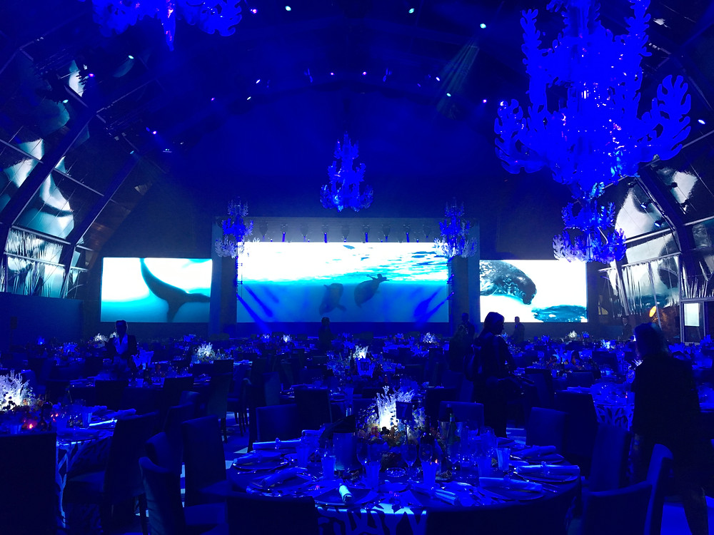 Gala dinner for the protection of oceans in Monaco