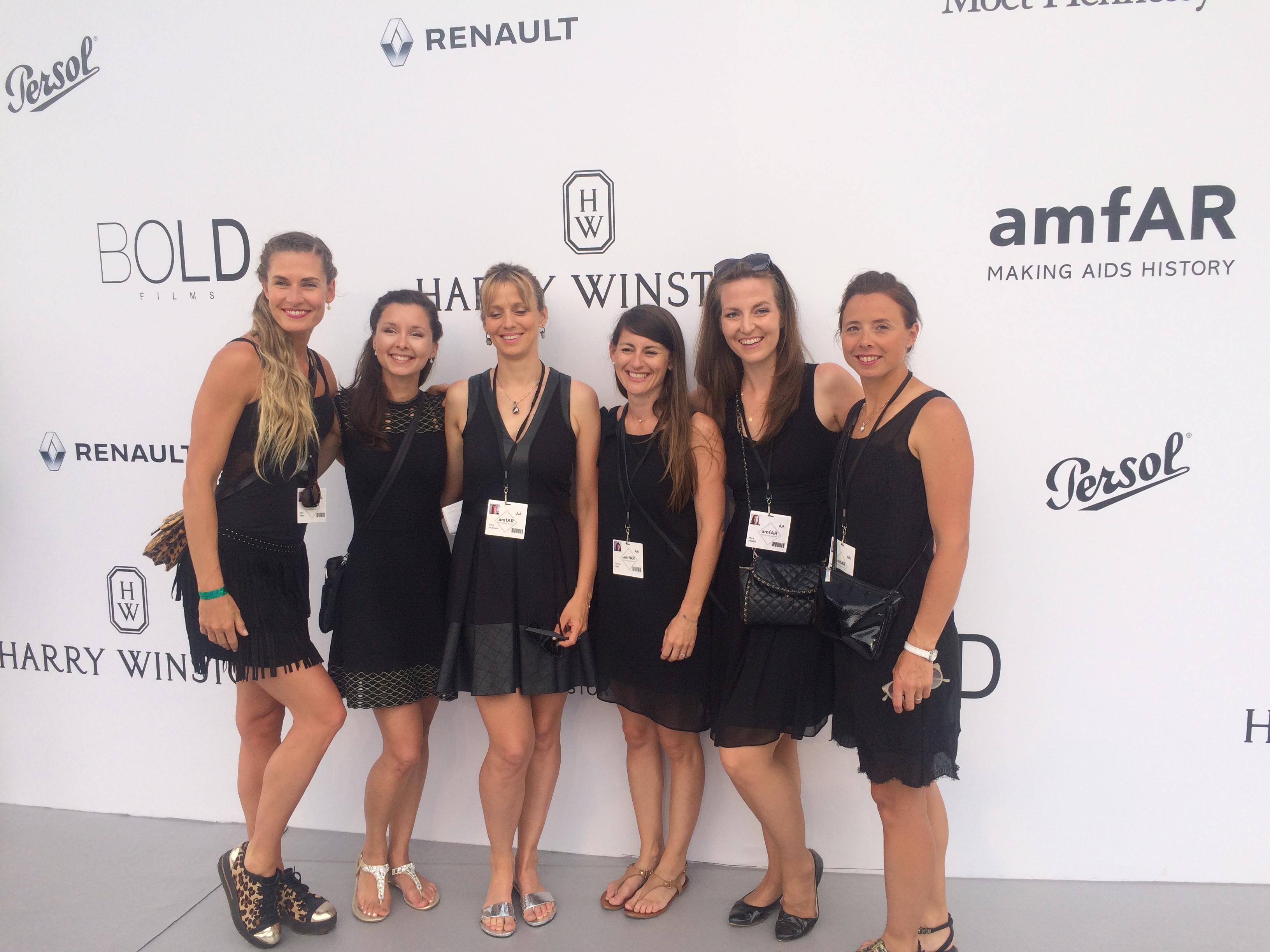 amfAR charity gala hostesses 2017