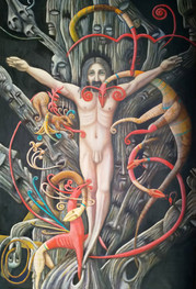 Christ On Arbor Mundi