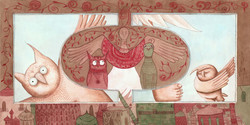 Angel, Owl, Gryphon