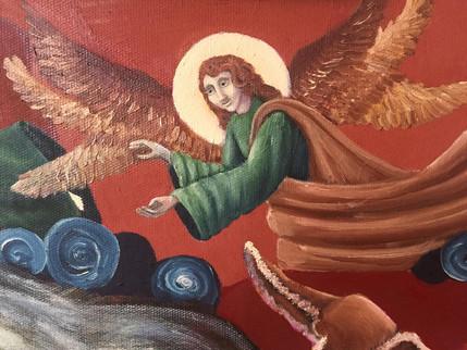 Prophet Elijah And Wheat Kernel's Genius or Resurrection Of Sarepta Widow's Son