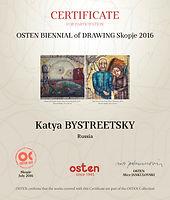 Katya BYSTREETSKY osten biennale