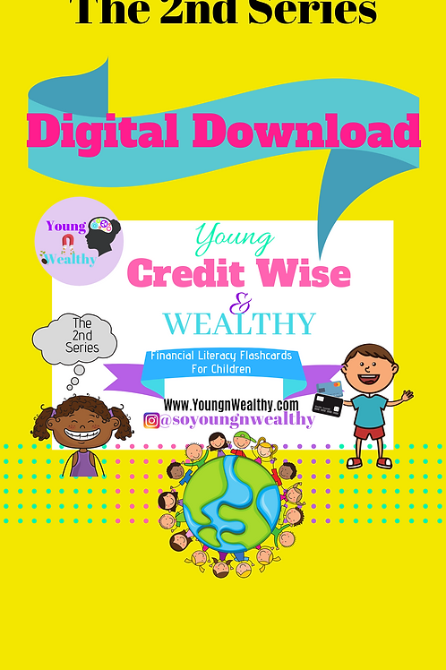 Digital Download. Young, Creditwise, & Wealthy