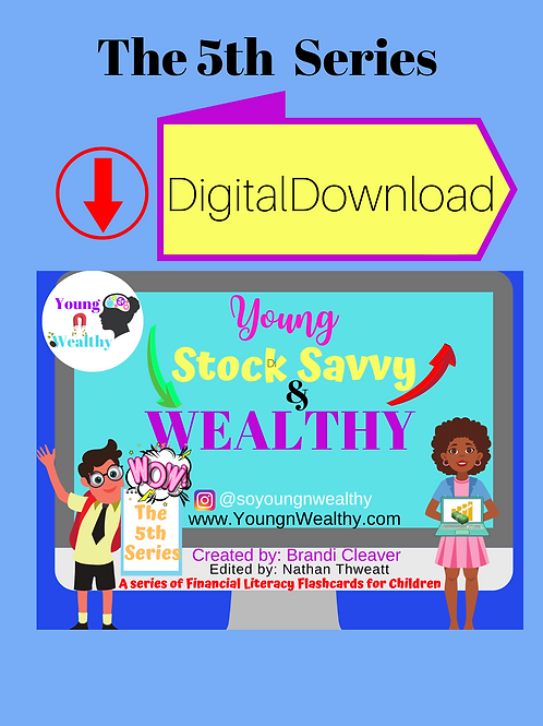 Digital Download Young, Stock Savvy, & Wealthy
