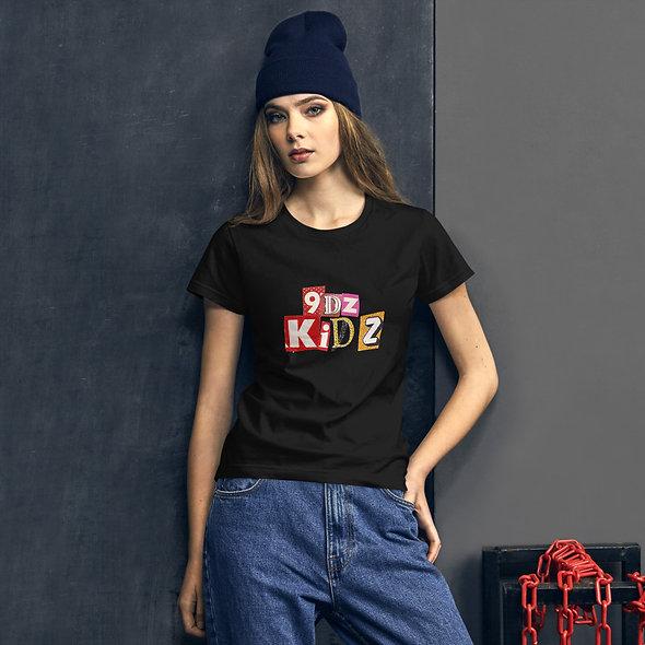 9dz Kidz Womens short sleeve t-shirt
