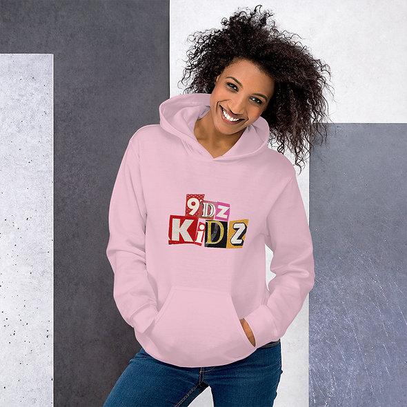 9dz Kidz Womans Hoodie