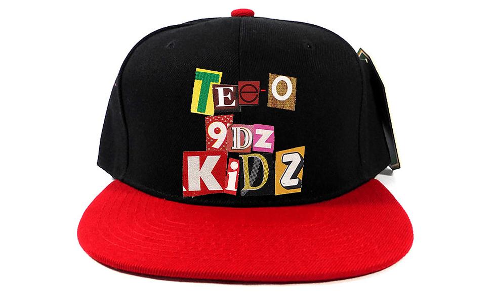 TEE-O/9dz Kidz SnapBack (Red&Black)