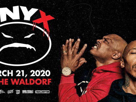 ONYX LIVE IN VANCOUVER  March 21st 2020!!