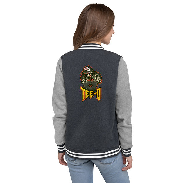 TEE-O Womens Letterman Jacket