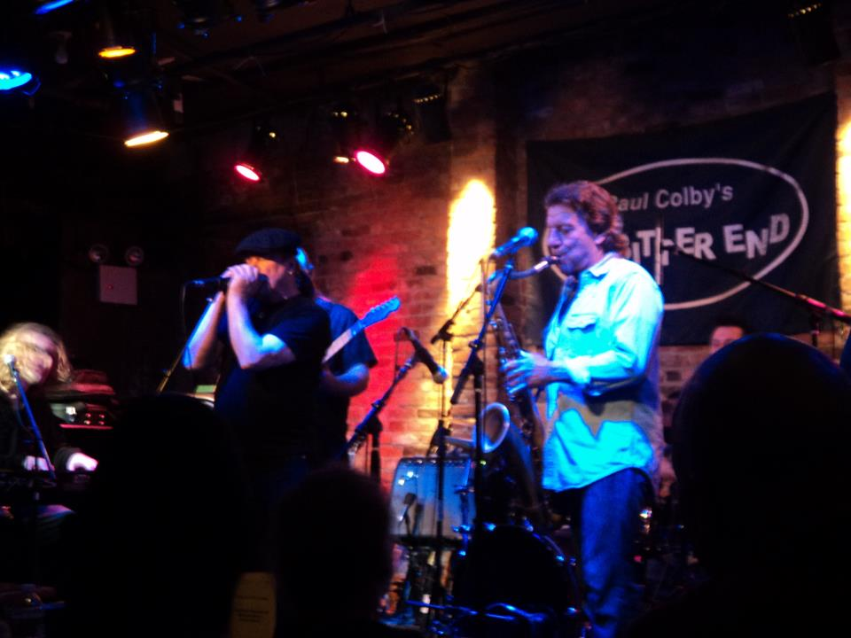 Chic with Billy Joels sax player Richie Cannata at the Bitter End New York.jpg