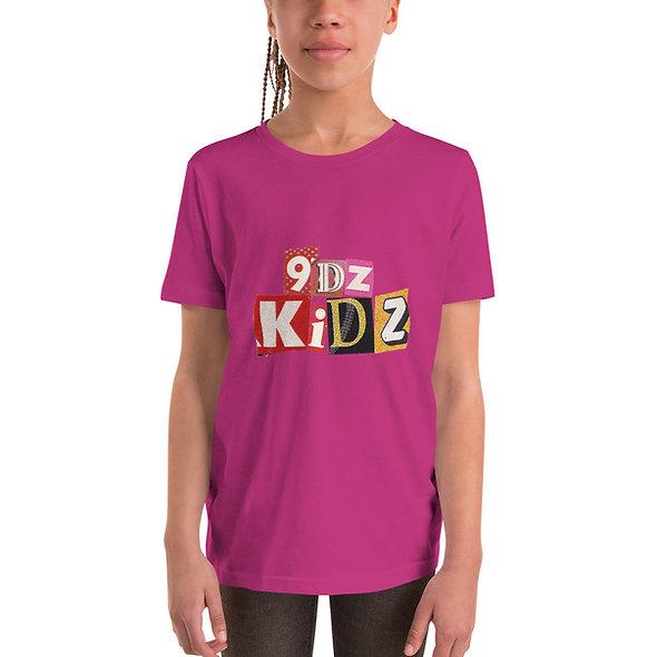 9dz Kidz Girls Youth Short Sleeve T-Shirt