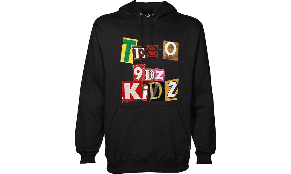 TEE-O/9dz Kidz Hoodie (Black)