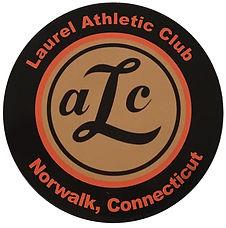 Laurel Athletic logo round decal.jpg