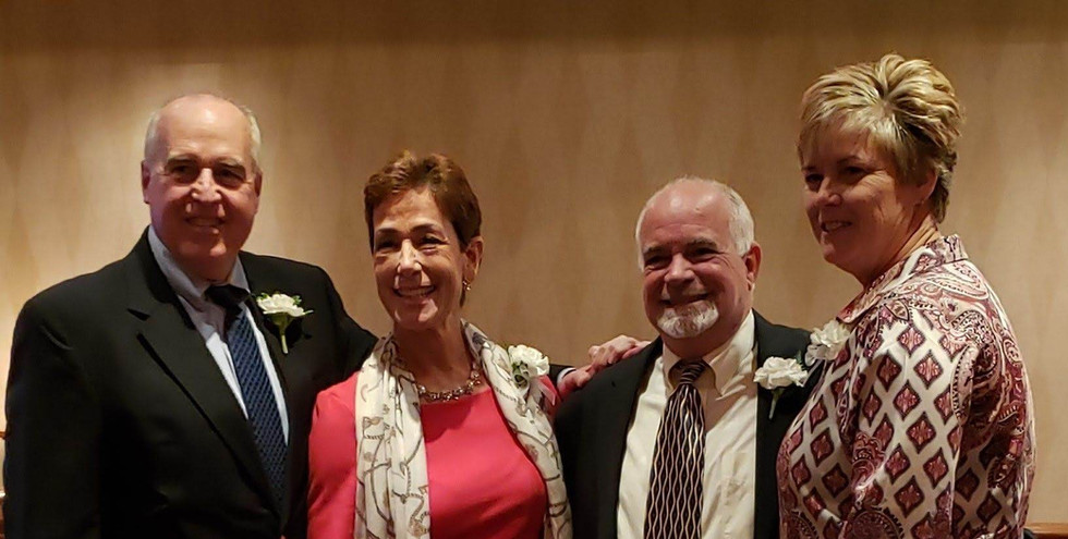 2019 Honorees Jeff Spahr, Maria Marino, Steve Annunziato, and Missy Oman.  (photo by Anna Mastrolillo)