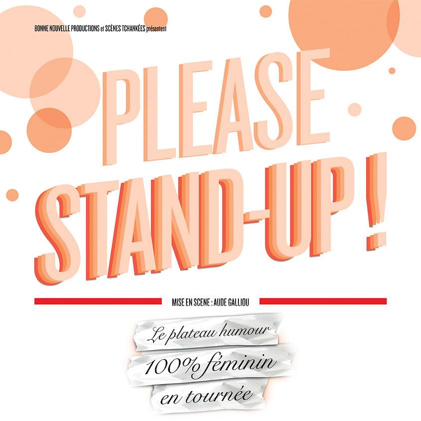 Please Stand-Up - Le plateau Humour 100% féminin