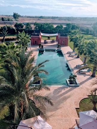 Chahar Mahal Villa. Marrakech, Morocco.