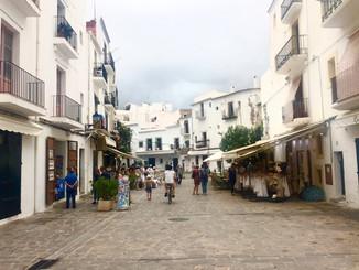 Old Town. Ibiza, Spain.
