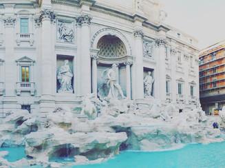 Fontana di Trevi. Rome, Italy.