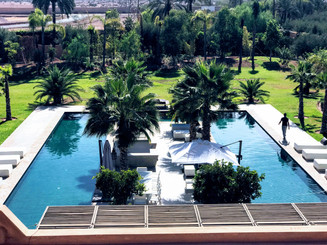 Villa Jasmine. Marrakech, Morocco. (TBT)