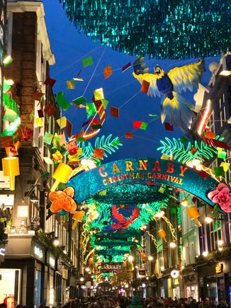 Carnaby Street. London, UK.