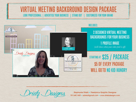 Stand out during your virtual meetings!