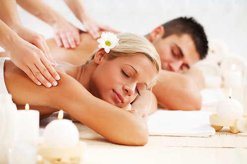 120 minute couple massage gift certificate