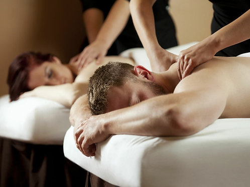 90 minute couple massage gift certificate