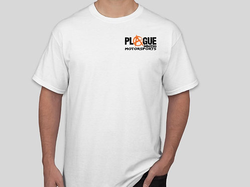 Plague Men's White T Shirt