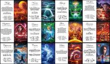Cartes Zodiaque