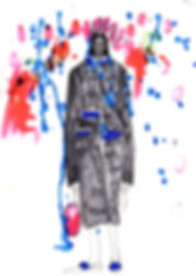 Elyse Blackshaw Illustration Christopher Kane