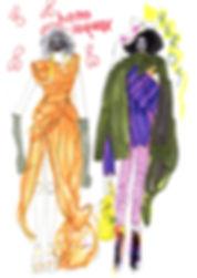 Elyse Blackshaw Illustration Vivienne Westwood
