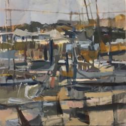 Autumn Harbor by Jodi Ferrier