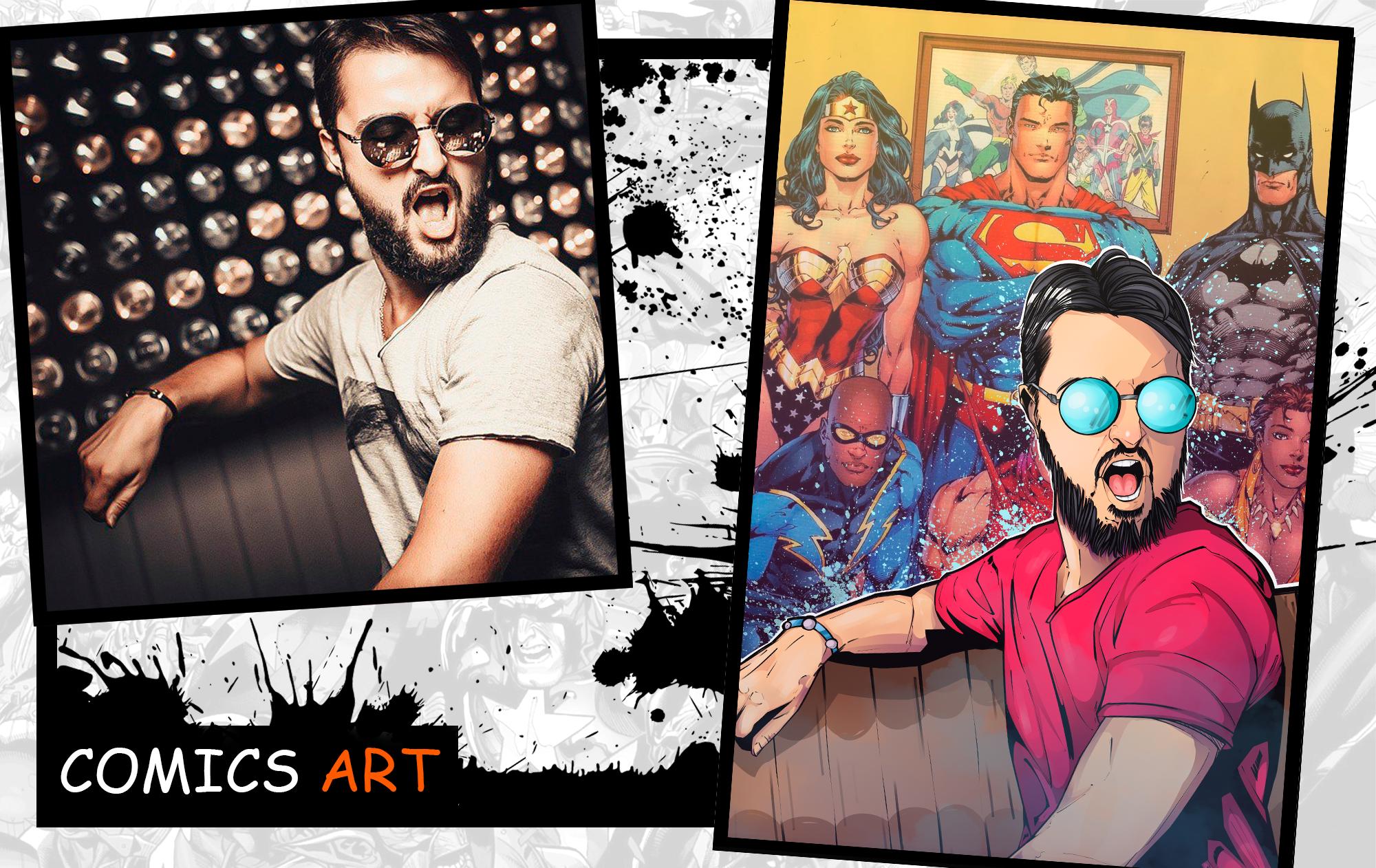 Comics portrait Commission