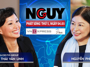 Talkshow Nguy-Cơ - Tập 26 - Khách mời: Shark Thái Vân Linh