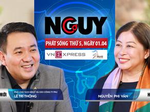 Talkshow Nguy-Cơ - Tập 30 - Khách mời: Lê Trí Thông, CEO công ty PNJ