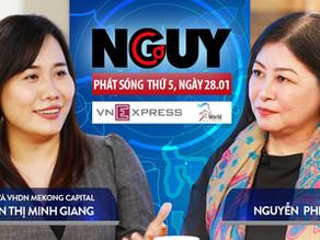 Talkshow Nguy-Cơ - Tập 21 - Khách mời: Nguyễn Thị Minh Giang, GĐPT nhân tài & văn hoá Mekong Capital