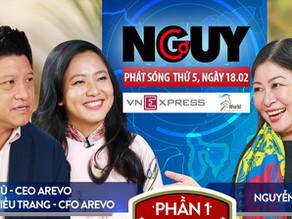 Talkshow Nguy-Cơ - Tập 24 - Khách mời: Lê Diệp Kiều Trang & Sonny Vu
