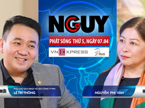 Talkshow Nguy-Cơ - Tập 31 - Khách mời: Lê Trí Thông, CEO công ty PNJ