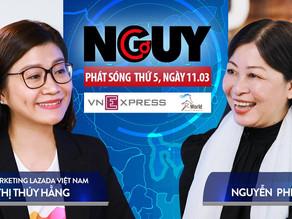 Talkshow Nguy-Cơ - Tập 27 - Khách mời: Nguyễn Thị Thuý Hằng, CMO Lazada Việt Nam