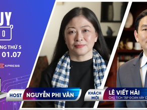 Talkshow Nguy-Cơ - Tập 34 - Khách mời: Lê Viết Hải, Chủ tịch tập đoàn Hoà Bình