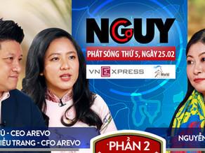 Talkshow Nguy-Cơ - Tập 25 - Khách mời: Lê Diệp Kiều Trang & Sonny Vu