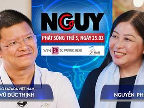 Talkshow Nguy-Cơ - Tập 29 - Khách mời: Vũ Đức Thịnh, CLO Lazada Việt Nam