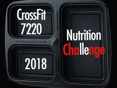 Nutrition Challenge 2018: Getting Started