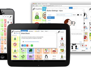 COUGHDROP:  Cloud-based AAC