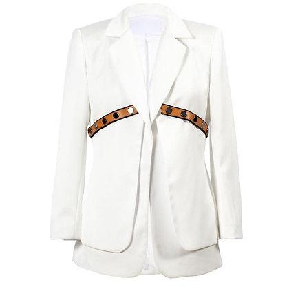 Satin Tailored Blazer