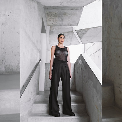 HIGH RISE WIDE PANTS